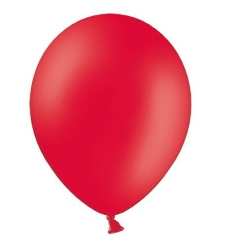 10 party star balloons red 27cm