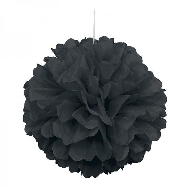Black And White Party Fluffy Pompom 40cm