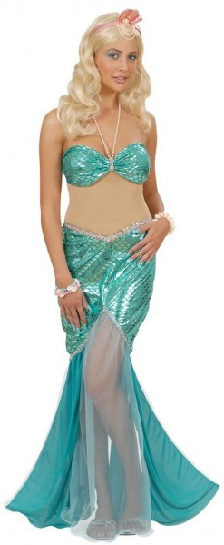 Fließendes Meerjungfrauen Kostüm