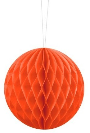 Wabenball Lumina orange 10cm