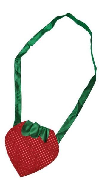 Erdbeer Handtasche