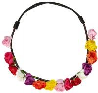 70er Jahre Blumenhaarband