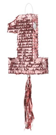 Pinata numéro 1 en or rose