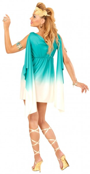 Romeinse godin Hestia-jurk met hoofdband