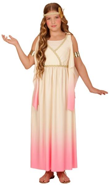 Griekse godin Rosalie kostuum voor kinderen