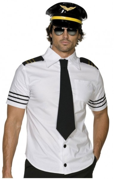 Lässiges Piloten Kostüm