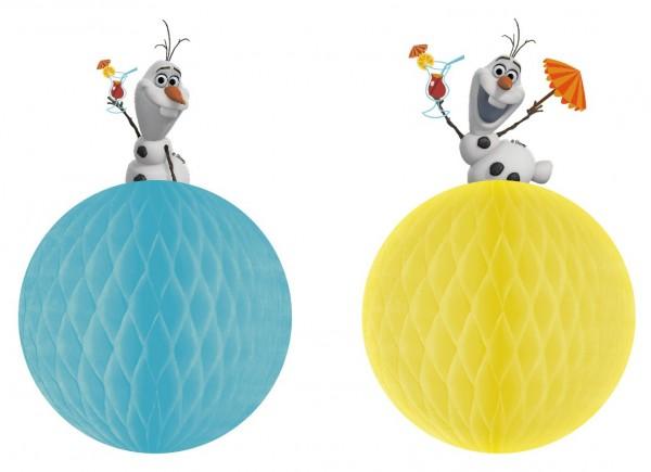 2 Olafs Sommerspaß Wabenbälle 17cm