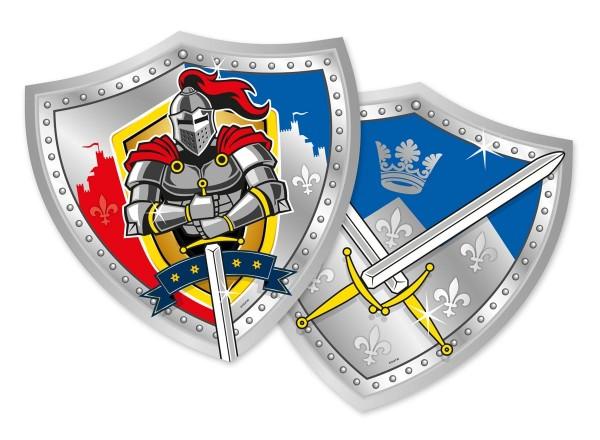 6 Teller Ritter Wappen 25cm