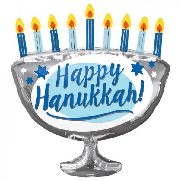 Globo foil Happy Hanukkah 66cm
