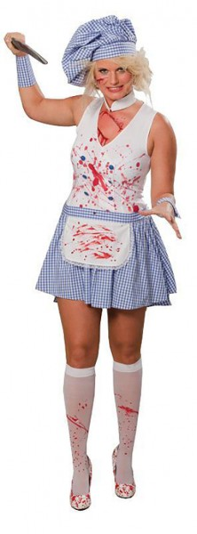 Halloween costume horror cook bloody