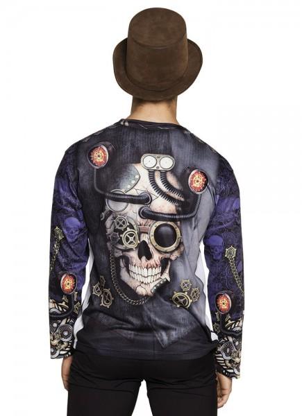 Steampunk 3D men's shirt Ivan