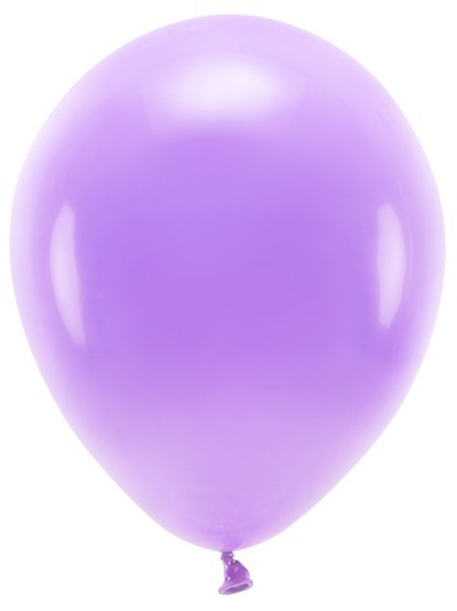 100 Eco Pastell Ballons flieder 30cm