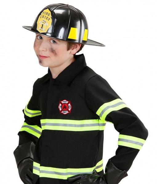 Feuerwehrhelm Brandmeister Schwarz