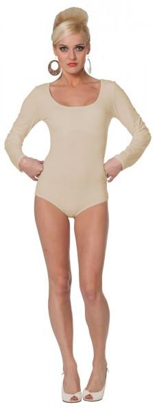Body clásico en beige
