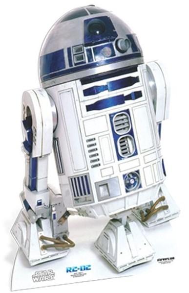 Star Wars R2-D2 Pappaufsteller 91cm