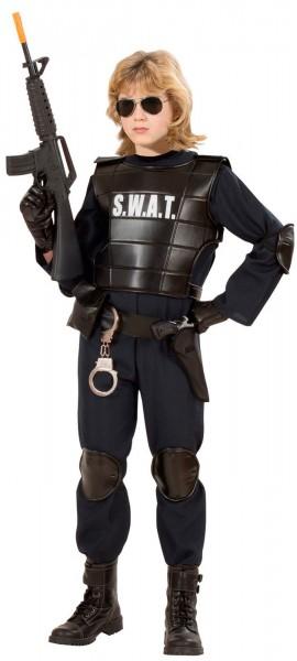 SWAT agent child costume
