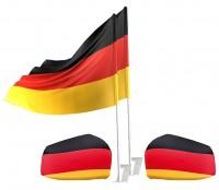 WM Deutschland Autodeko Set 4-teilig
