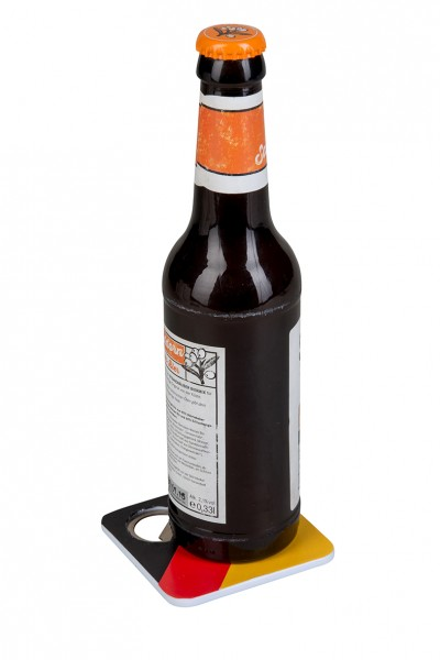 Deutschland Untersetzer mit Flaschenöffner