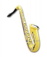 Aufblasbares Party Saxophon 83cm