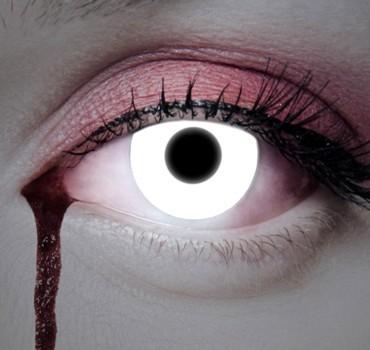 Schneeweiße Jahres Kontaktlinse