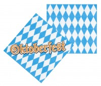 12 Oktoberfest Party Servietten