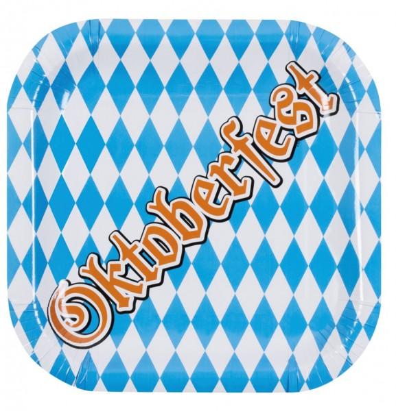 6 Oktoberfest Party Plates 25cm