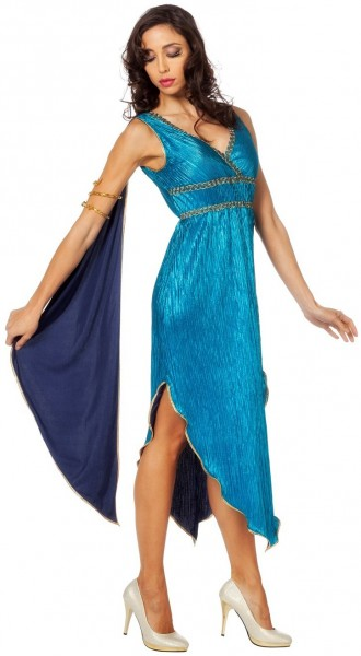 Griekse godin Selene dameskostuum
