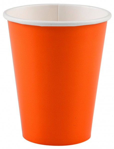20 Becher Olli Orange 266ml