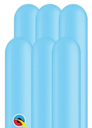 100 ballons à modeler 260Q bleu bébé 1,5 m