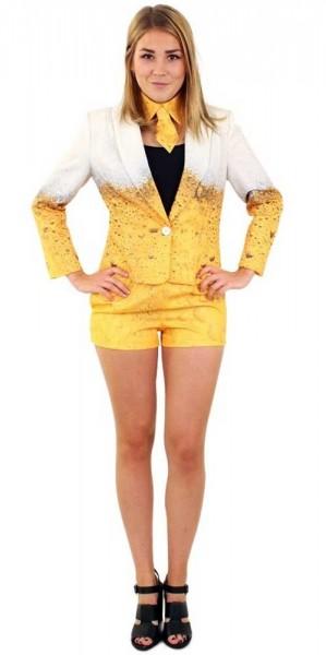 3 teiliges Bier Kostüm für Damen