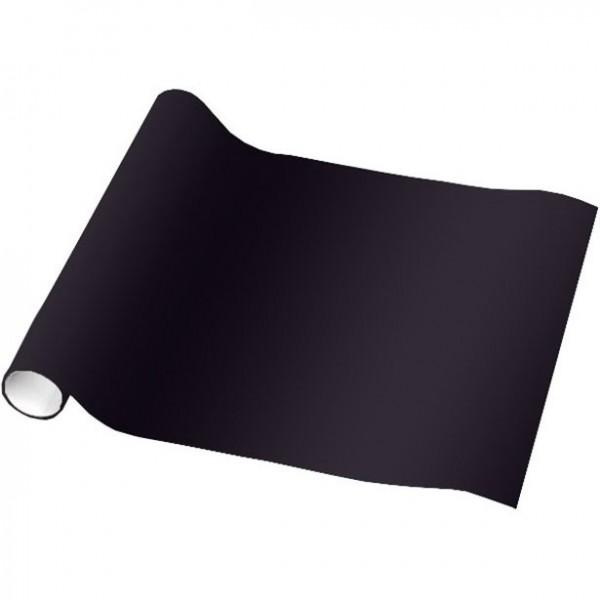 Schwarzes Geschenkpapier 1,5m