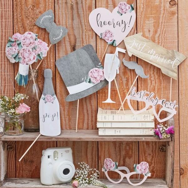 10 Landliebe Hochzeit Foto Requisiten