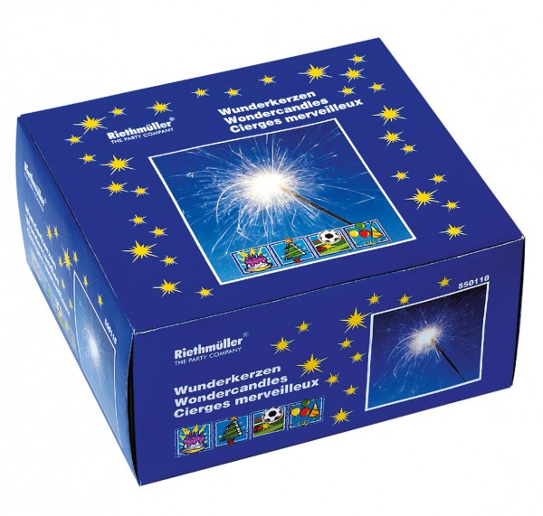 40 scintillants Sparkling Light 17cm