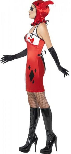 Psycho Harlekin Damen Kostüm