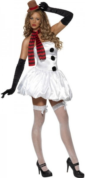 Ice cold snow women costume