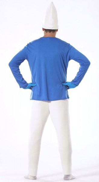 Blau-Weißes Zwergenkostüm