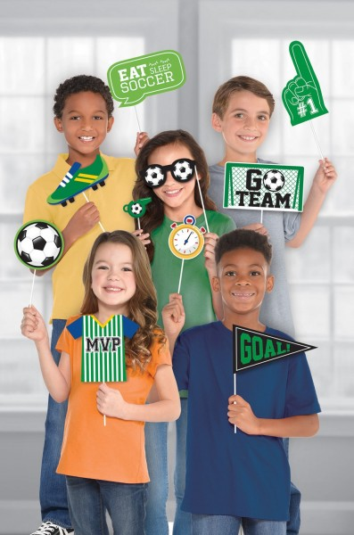 Fußball Fotorequisiten Game Time 13-teilig