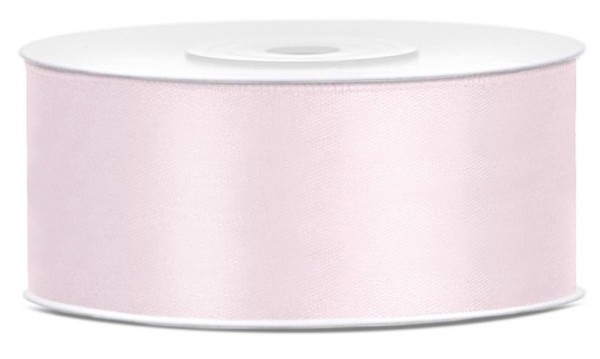 Nastro regalo in raso Kent morbido rosa 25m