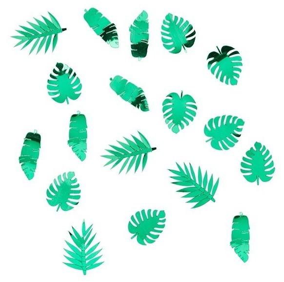 Espolvorear hoja de palma decoración Paradise 14g