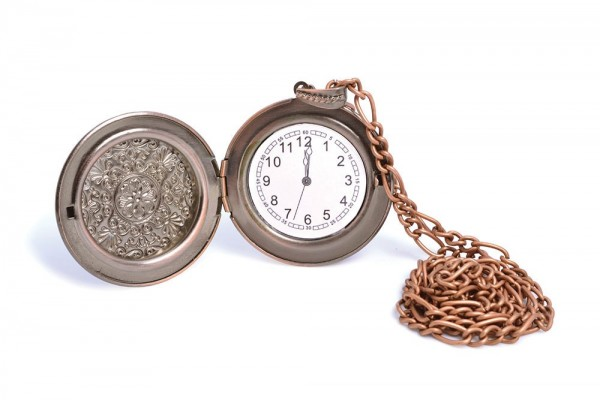 Goldene Steampunk Taschenuhr