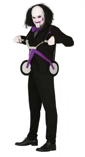 Driewieler killer doll heren kostuum
