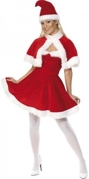 Sexy Weihnachtslady Santa Claudia Damenkostüm
