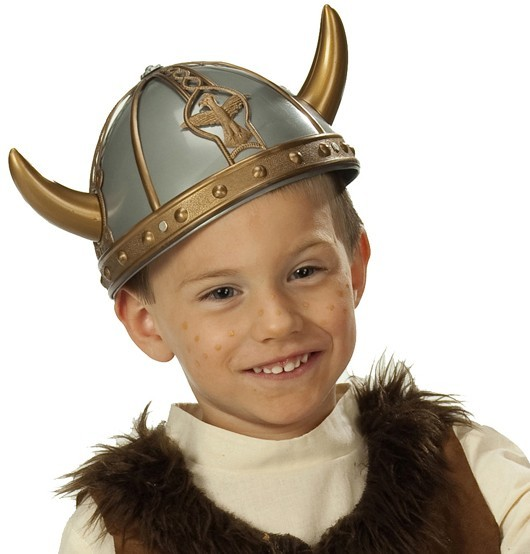 Children's viking helmet