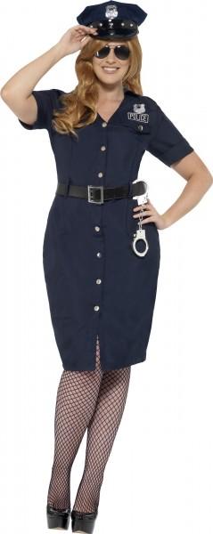 Polizei Kommissarin Damenkostüm