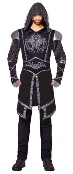 Düsteres Ritter Kostüm Für Herren