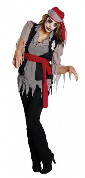 Undead pirate Sombia zombie costume