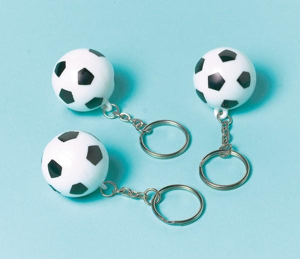 12 porte-clés de football