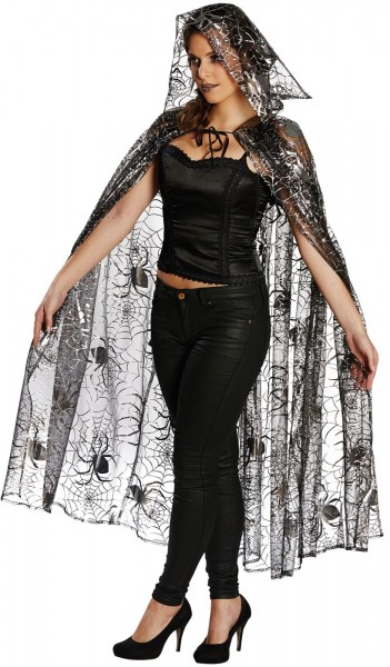 Spinning Tulle Cape Deluxe
