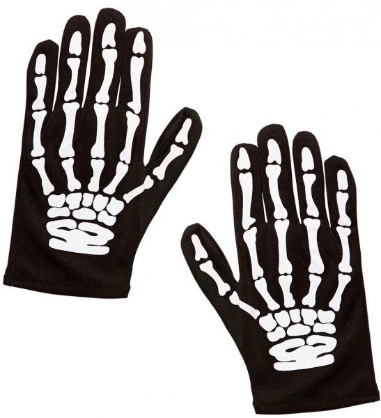 Skelett Thorben Kinder-Handschuhe