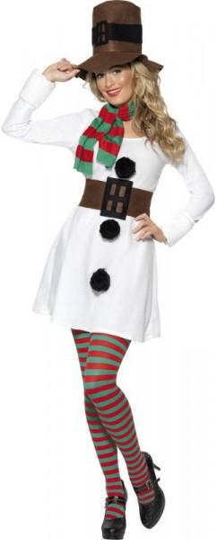White snow women dress for women